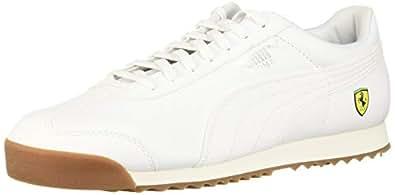 PUMA Men's Ferrari Roma Sneaker, White, 10 M US