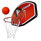 Universal Trampoline Basketball Pole, Hoop and Backboard - Fits All...