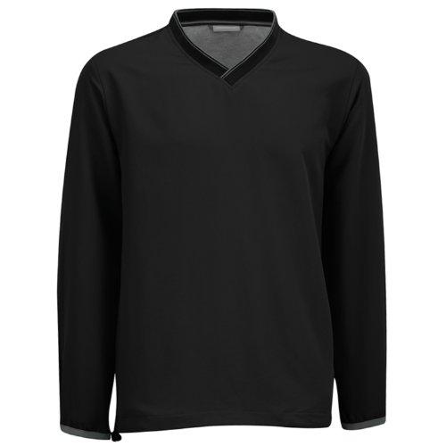 Ashworth Golf Mens Performance Solid V-Neck Windshirt - B...