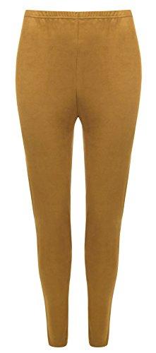 para Negro 21fashion One mujer Leggings Mustard Size yHcFcBOT