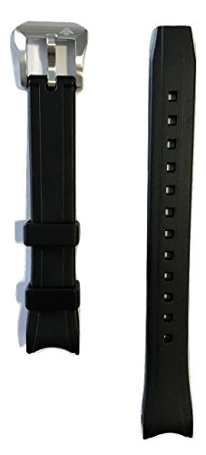Original Citizen WOMEN'S Promaster Diver Black Rubber Band Strap for Watch EP6030-06E Citizen Diver Bracelet