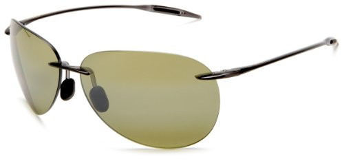 Maui Jim Sunglasses - Sugar Beach / Frame: Smoke Gray Lens: Polarized Maui - Pilot Jim Maui
