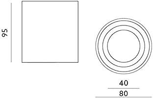 JVS Luminaria de montaje en superficie Luminaria de montaje en ...