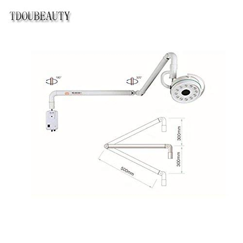 TDOUBEAUTY Dental 36W Hanging LED Surgical Oral Exam Light Shadowless Lamp KD-2012D-1 by TDOUBEAUTY (Image #2)