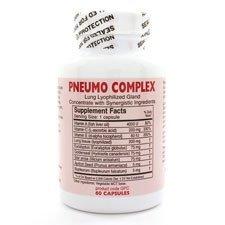 Pneumo Complex 60ct Caps by Professional Formulas by Professional Complementary Health Formulas