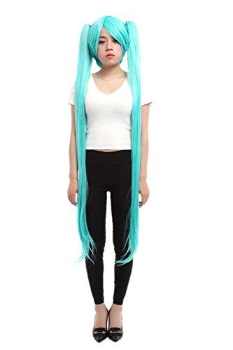 Lemail wig Women's 120 cm Long Women Blue