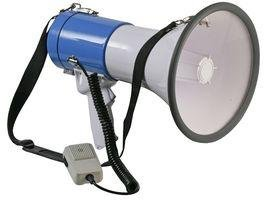 Portable Megaphone With Mic 25 Watt 9 Inch Horn