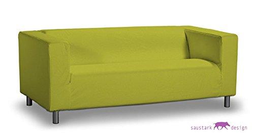 saustark design sylt cover for ikea klippan sofa 2 seater moss green erfahrung