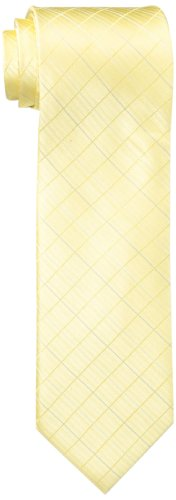 Calvin Klein Men's Etched Windowpane B Tie