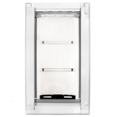 "Endura Single Flap Kennel Door (Set of 2) Size: 28"" H x 15.5"" W x 2"" D"