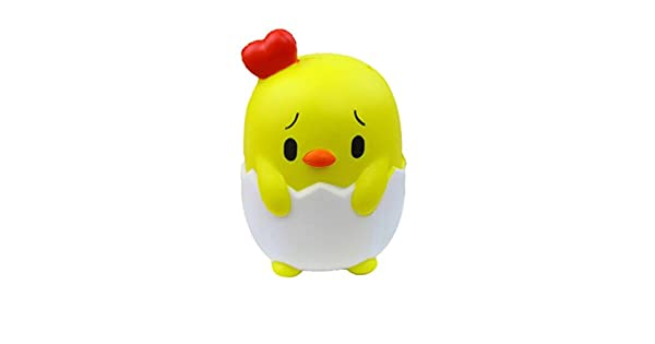 Amazon.com: longay 1pcs lindo amarillo pollito Squishy lento ...