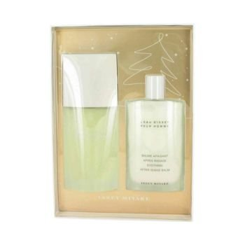 Leau dissey issey miyake by issey miyake gift set 42 oz eau de toilette spray 34 oz after shave balm men