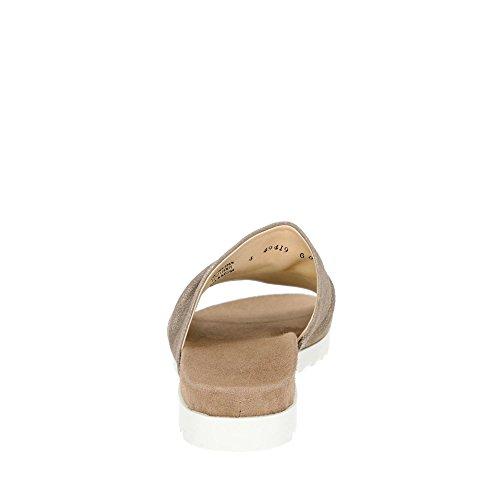 Paul Verde 7156-022 Mulo Da Donna Realizzato Con Fodera In Pelle Nabuk E Sottopiede In Metallo