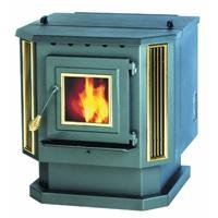 Summers Heat 55-SHP22 Pellet Stove 2,200 Square Foot by Summers Heat