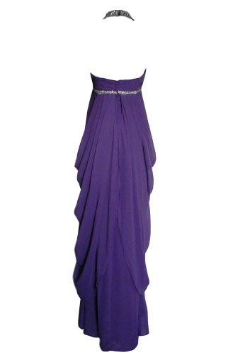 Alivila Damen Morgenmantel Fashion Violett Y arnqB04a