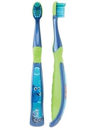 Oral-B Kids - Cepillo de dientes para niños, pro Salud etapas Disney y Pixar Finding Dory para niños de 5 - 7 años de edad, suave (6 unidades), ...