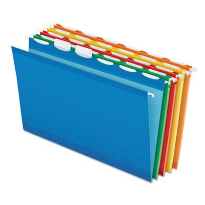 - PFX42593 - Colored Reinforced Hanging Folders