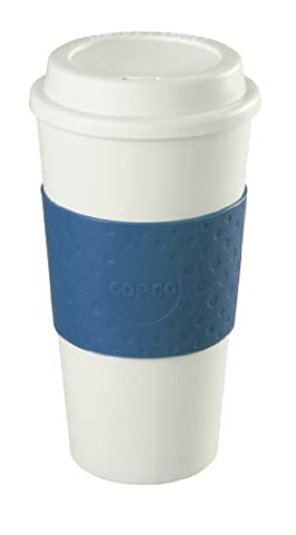 Copco Acadia Travel Mug, 16-Ounce, Blue (Travel Coffee Mug 16 Ounce)