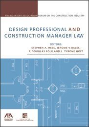 Design Professional and Construction Manager Law