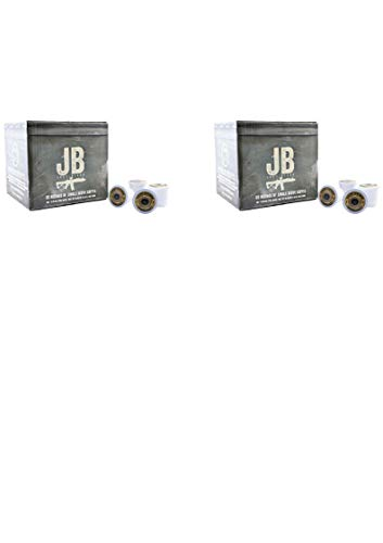Black Rifle Coffee Company JB Just Black Coffee Rounds for Single Serve Brewing Machines (50 Count) dark Roast Coffee Pods Cups (2 pack)