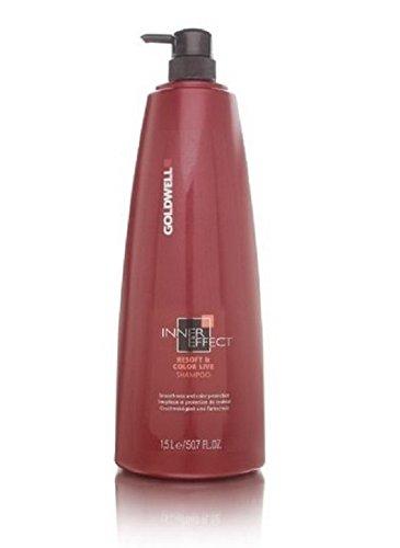 Goldwell Inner Effect Resoft & Color Live Shampoo 50.7 oz (1.5 Liters)
