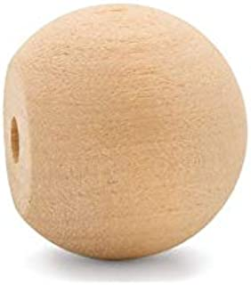 product image for Unfinished Wood Ball Knobs 1-1/4 inch for Kitchen Cabinet Knobs, Drawer Knobs, Dresser Knobs and Crafts, Pack of 50, by Woodpeckers