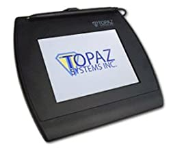 "Topaz Siggem 5.7"" Color Dual Serialhid Usb Backlit Electronic Signature Pad With Software"