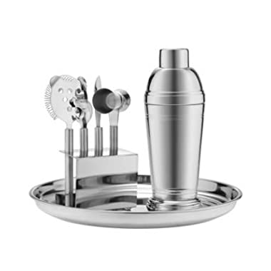 Stainless 7 Piece Barware Set