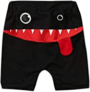Toddler Shorts -Zcuhen Baby Children Kid Boys&Girls Cartoon Tongue Harem Shorts Trou