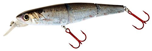 Real Fish Bait Defender Fishing Bait, Threadfin Shad, 4.5