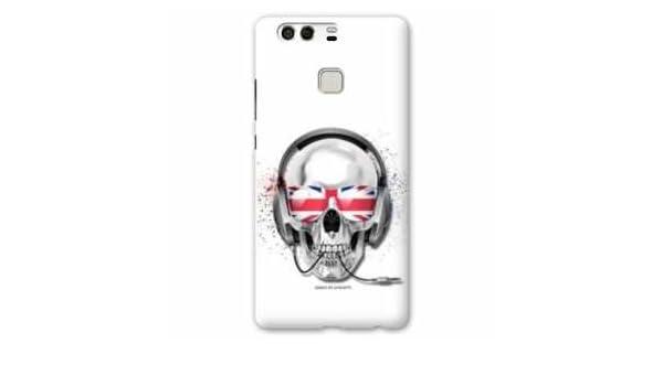 Amazon.com: Case Carcasa Huawei P9 skull head - - blanc uk B ...