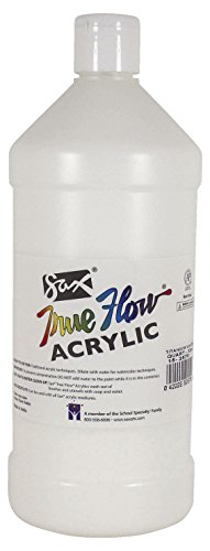 Sax True Flow Medium Bodied Acrylic Paint - Quart - Titanium