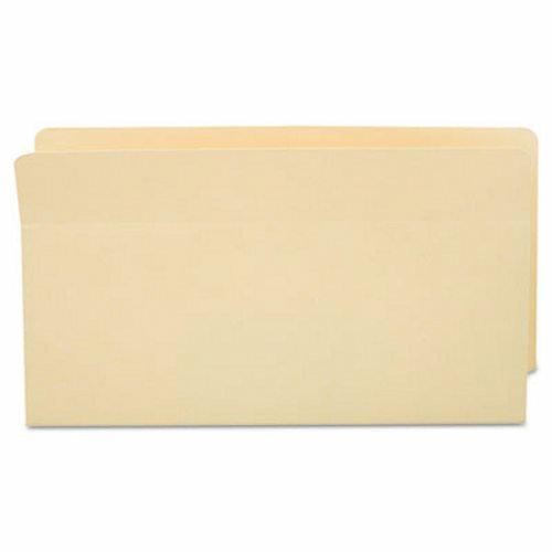 Adams Standard File Pocket, End Tab, Manila,1 3/