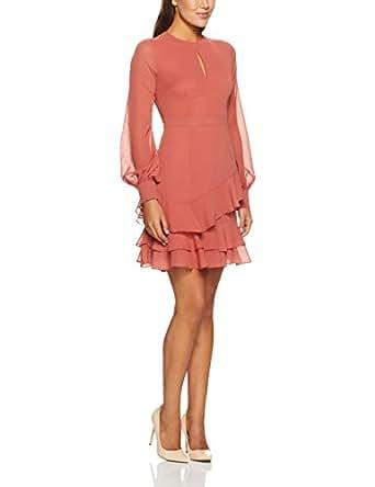 Cooper St Women's Briar Rose Long Sleeve Dress, Cinnamon Red, 10