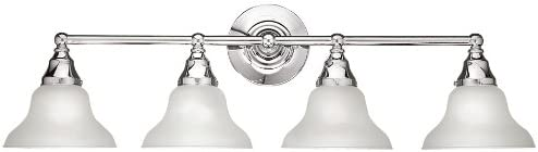 World Imports Lighting 2602-08 Asten 4-Light Bath Light, Chrome