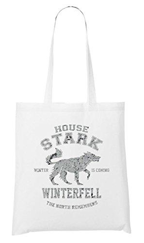 House Stark Bag Bianco Maniaco Certificato