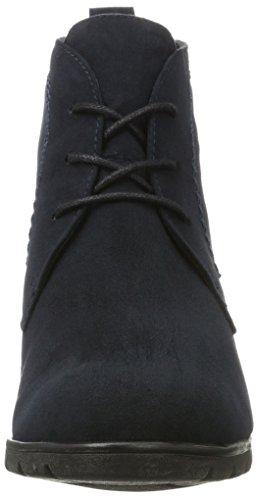 Marco Tozzi 25107, Botas para Mujer Azul (Navy)
