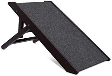 Internet s Best Small Adjustable Pet Ramp – Small Dog Use Only – Please Check Dimensions Before Buying