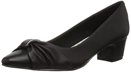 Easy Street Women's Eloise Dress Pump, Black, 10 N US