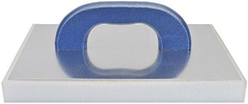 HaWe 135.73 Gl/ättescheiben aus Aluminium//Kaltschaum 28 x 14 x 3 cm wei/ß