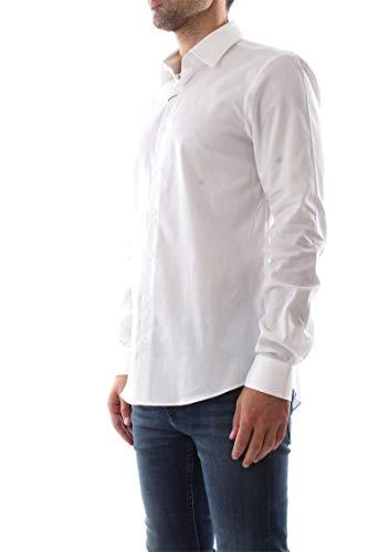 Dobby Klein bianca K10k103134 Camicia uomo da Calvin Stretch vwBpg