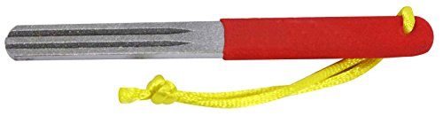 SE DF401FS Dual Grit Diamond Fishing Hook and Knife Sharpening Stone