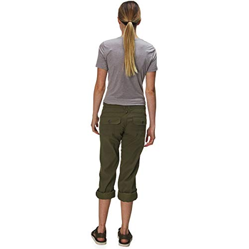 prAna Women's Short Inseam Halle Pant, 0, Cargo Green by prAna (Image #1)