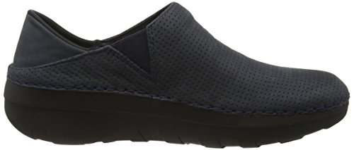 Fitflop Women's Superloafer (Nubuck) Loafers Blue (Supernavy) sale big discount 210cY