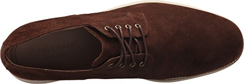 Cole Haan Men's Original Grand Plain Toe Oxford, Muir Ch Suede/Ivory, 8 Medium US by Cole Haan (Image #1)