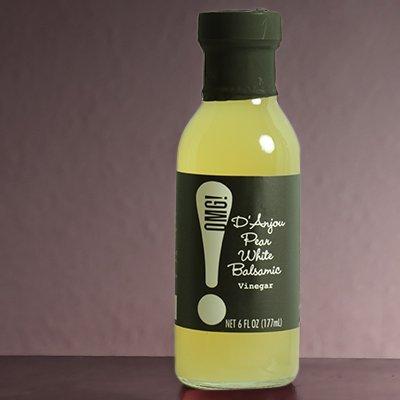 D'Anjou Pear White Balsamic Vinegar by OMG!