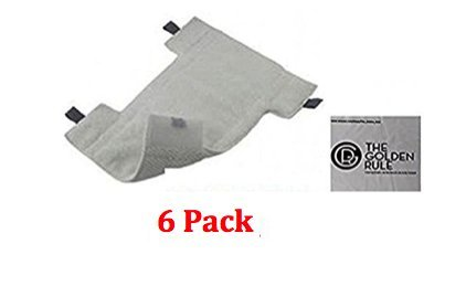 6 Pack Replacement Shark Dust-away Pads, Shark Rocket Pads, Quality Comparable to Shark Replacement Pads for Dust (Advanced Shark)