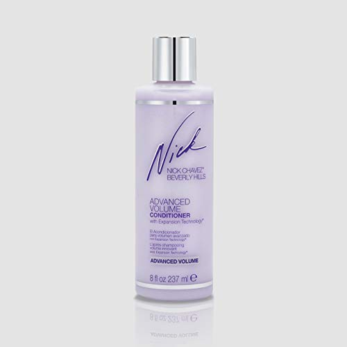Nick Chavez Beverly Hills Premium Advanced Volume Conditioner with Expansion Technology - Scalp and Hair Care - Volumizing Conditioner - 8 Oz