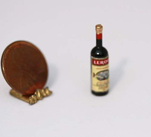 *hudson River Miniatures Dollhouse Miniature Bottle of BlackBerry Flavored Brandy