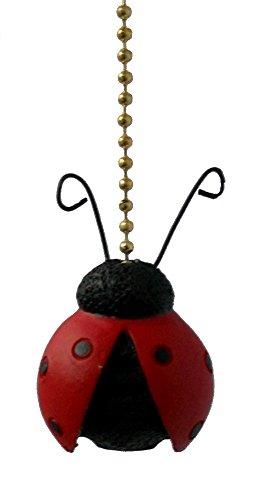 Ladybug Fan Pull
